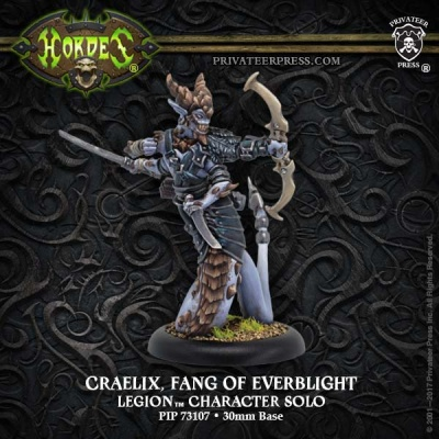 Legion Craelix Fang of Everblight, Character Solo