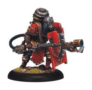 Khador Assault Kommando Flame Thrower (1 model)