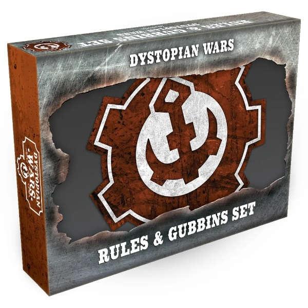 Dystopian Wars Rules & Gubbins Set - ENGLISCH