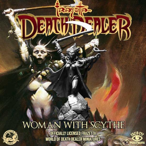 Death Dealer: Woman with Scythe