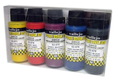Vallejo Premium: Candy Colors (Polyu.) (60ml) (5)