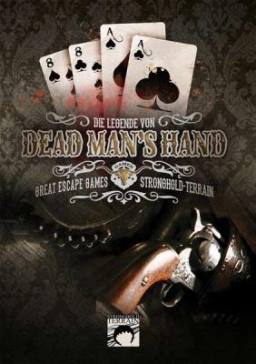 Dead Man`s Hand Spielkarten DEUTSCH