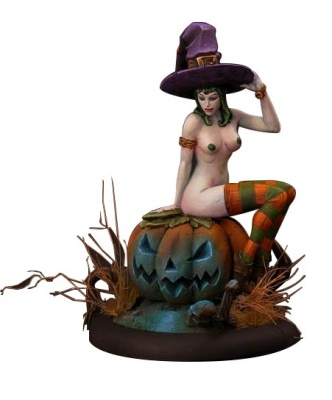 21st Century Pin Ups: Helloween Witch