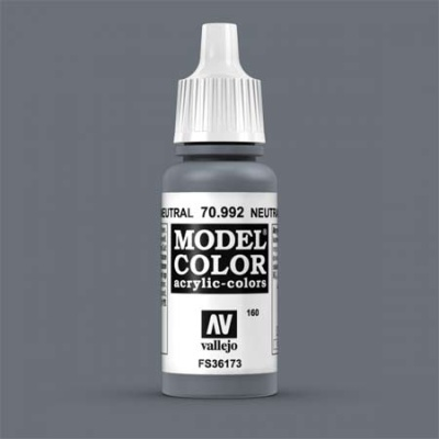 Model Color 160 Neutralgrau (Neutral Grey) (992)