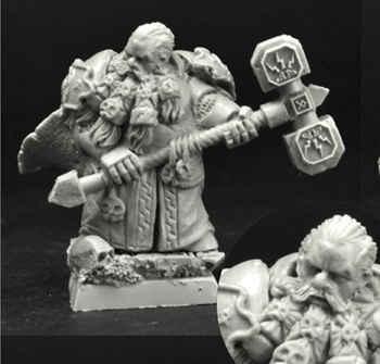 28mm/30mm Dwarf Lord Fundin (1)