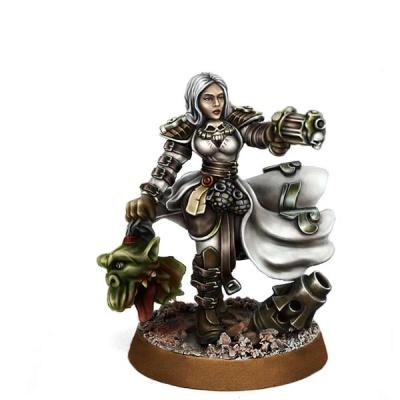 Female Inquisitor Xeno Trapper