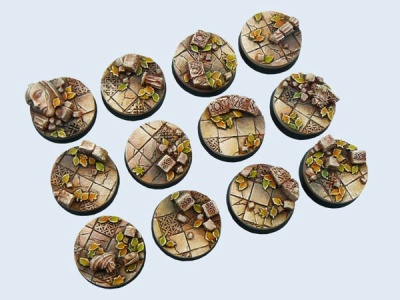 Ancient Bases, 25mm (5)