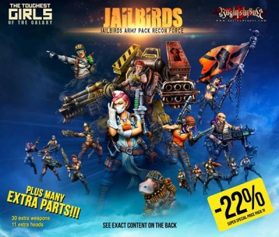 Jailbirds Army Pack Recon Force (JB)