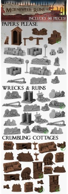 Morneville Ruins Set (100 Teile)
