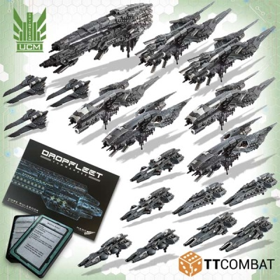Dropfleet Commander: UCM Battlefleet