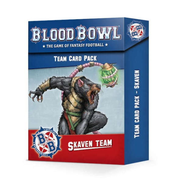 Blood Bowl: Skaven Karten