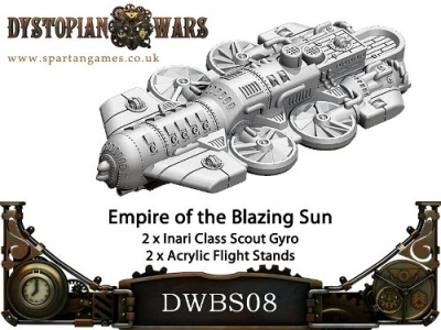 Empire of the Blazing Sun Airship (2) (OOP)
