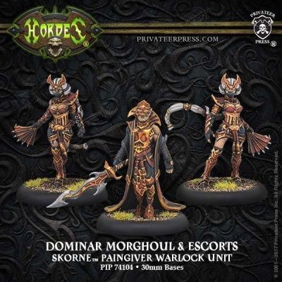 Skorne Warlock Unit Dominar Morghoul & Escorts