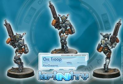 Orc Troop (HMG) (PO)