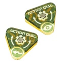 Space Fighter, Action Dials, Set of 2 YELLOW
