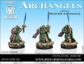 28mm Archangels Captain  Brother Xathanael