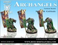 28mm Archangels Standar Bearer Cathael