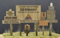 Real Wooden Signs WWII - USA Set 1