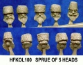 Cossack Heads (5)