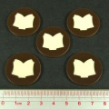 Steampunk Horror Tome Tokens (5)
