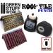Miniature ROOF TILE Punch BLACK